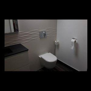 un meuble de salle de bain à morlaix