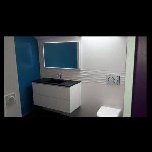 chambre et salle de bain à morlaix