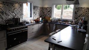 A Quimper, un carrelage de cuisine