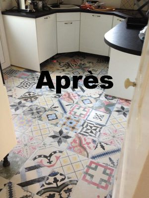 A Quimper, carrelage renovation